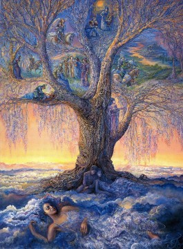 Fantasy Painting - JW tree of reverie Fantasy