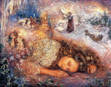 Dream Painting - JW winter dreaming Fantasy