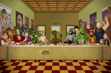 Last Supper 22 Fantasy Oil Paintings