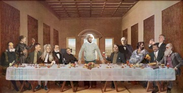 Last Supper 34 Fantasy Oil Paintings