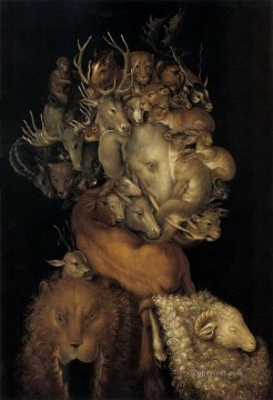 earth of animals Giuseppe Arcimboldo Fantasy Oil Paintings