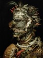 man of sealife Giuseppe Arcimboldo Fantasy