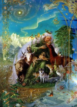 3d magic fantasy Painting - wildanimals old magic Fantasy