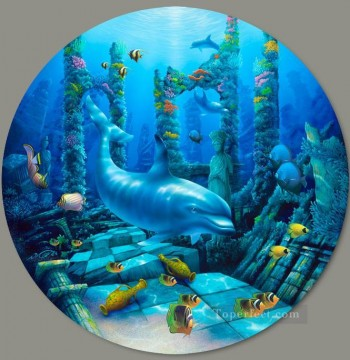 Seabed World Painting - Deep Secrets under sea