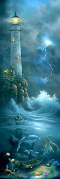 Night Watch under sea Oil Paintings