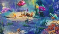 The Little Mermaid part3 Thomas Kinkade ocean