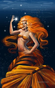 the sea witch Oil Paintings