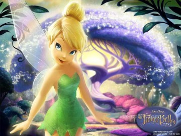 tinkerbell purple sybil Oil Paintings