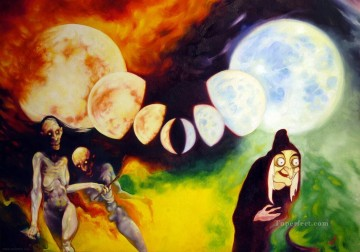 witches 11 Oil Paintings