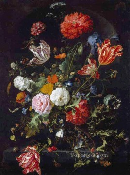flower flowers floral Painting - Flowers Jan Davidsz de Heem flower