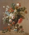 Vaso di fiori vase of flowers Jan van Huysum classical flowers