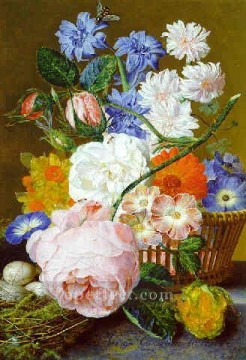 Classical Flowers Painting - fl062E flowers