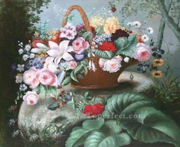 Classical Flowers Painting - gdh025aE flowers
