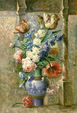 Classical Flowers Painting - gdh028aE flowers