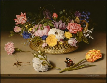 Bosschaert Ambrosius Still Life of Flowers Oil Paintings