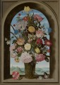 Bosschaert Ambrosius Vase of Flowers in a Window