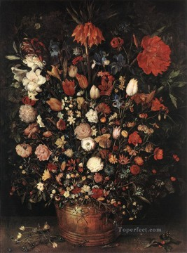 Classical Flowers Painting - The Great Bouquet Jan Brueghel the Elder flower