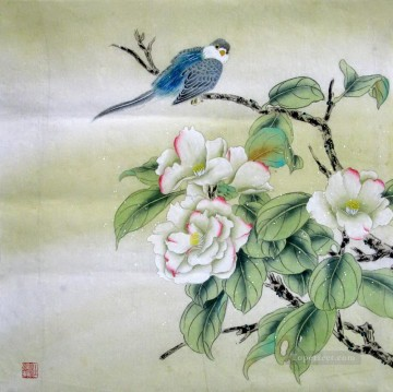 Classical Flowers Painting - am195D animal bird classical flowers