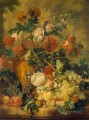 Flowers and Fruit Jan van Huysum classical flowers