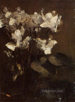 Fleurs cyclamens flower painter Henri Fantin Latour Oil Paintings