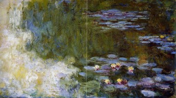 Lily Painting - The Water Lily Pond Claude Monet Impressionism Flowers