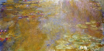 Impressionism Flowers Painting - The Water Lily Pond II Claude Monet Impressionism Flowers