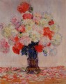 Vase of Peonies Claude Monet Impressionism Flowers