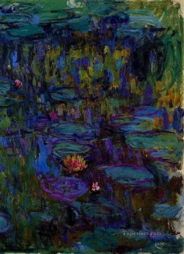 Water Lilies 1914 Claude Monet Impressionism Flowers Oil Paintings