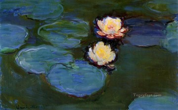 Water Lilies II Claude Monet Impressionism Flowers Decor Art