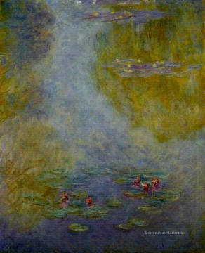 Water Lilies XIX Claude Monet Impressionism Flowers Oil Paintings
