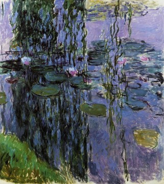 Water Lilies XV Claude Monet Impressionism Flowers Oil Paintings