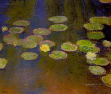 monet water lily lilies waterlily waterlilies Painting - WaterLilies Claude Monet Impressionism Flowers