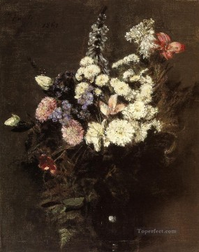 Autumn Flowers Henri Fantin Latour Oil Paintings