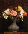 Flowers Camelias and Tulips flower painter Henri Fantin Latour