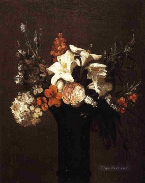 Flowers4 flower painter Henri Fantin Latour Oil Paintings