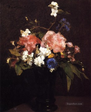 Flowers7 flower painter Henri Fantin Latour Oil Paintings