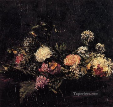 Flowers8 flower painter Henri Fantin Latour Oil Paintings
