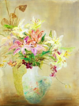 Flowers Painting - Forever Lasting Fragrance impressionism flowers