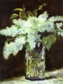 Lilac in a glass Eduard Manet Impressionism Flowers