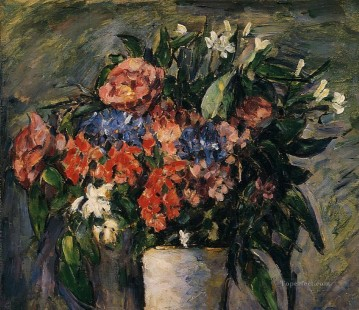 Pot of Flowers Paul Cezanne Oil Paintings