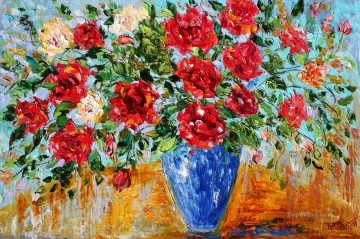 Romance of Roses Impressionism Flowers Oil Paintings