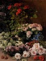 Spring Flowers Claude Monet Impressionism Flowers