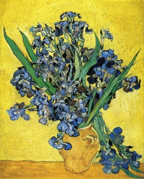 flowers - Still Life with Irises Vincent van Gogh Impressionism Flowers