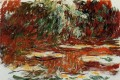The Water Lily Pond 1919 Claude Monet Impressionism Flowers