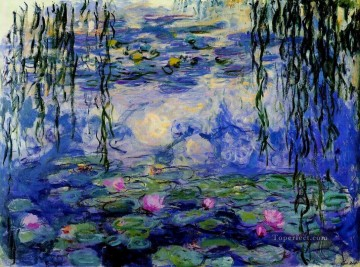 Water Lilies II 1916 Claude Monet Impressionism Flowers Oil Paintings
