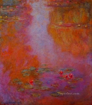 Water Lilies VI Claude Monet Impressionism Flowers Oil Paintings