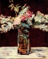 lilac and roses Eduard Manet Impressionism Flowers