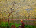 An Orchard in Spring Claude Monet Impressionism Flowers