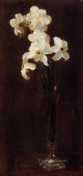 Flowers9 flower painter Henri Fantin Latour Oil Paintings