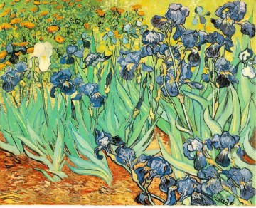Irises 2 Vincent van Gogh Impressionism Flowers Oil Paintings
